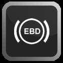 Hệ thống phân phối lực phanh điện tử EBD. Hệ thống này thường được trang bị kèm theo hệ thống ABS, nó làm nhiệm vụ phân tích và phân phối lực phanh cụ thể lên từng bánh xe, tùy vào điều kiện mặt đường, tốc độ, tải trọng.v.v... nhằm đảm bảo cho xe khả năng cân bằng và giảm tốc một cách hiệu quả nhất.