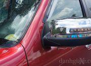 Cột chữ A không quá to, đảm bảo tầm quan sát tốt cho người lái.