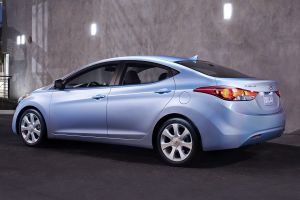 Còn đây là Hyundai Elantra tại thị trường Mỹ