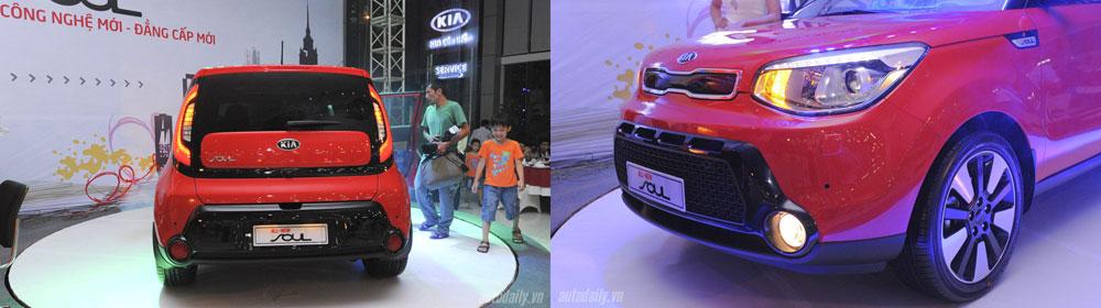 Mẫu xe mới này được trang bị đèn LED ở cả cụm đèn trước và sau.